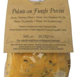 italienske polenta med karl johan svampe